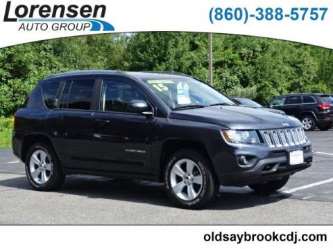 CERTIFIED PRE-OWNED 2015 JEEP COMPASS 4WD 4DR LATITUDE 4WD