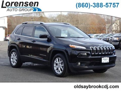 PRE-OWNED 2018 JEEP CHEROKEE LATITUDE PLUS 4X4 4WD