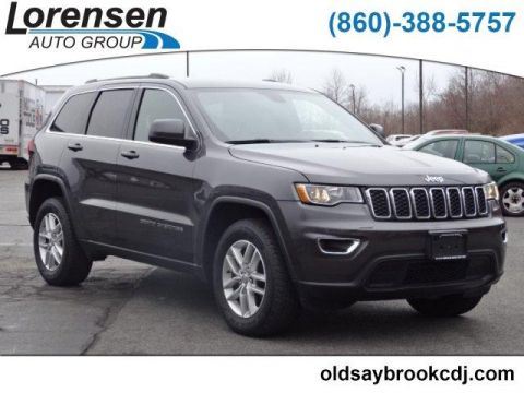 PRE-OWNED 2017 JEEP GRAND CHEROKEE LAREDO 4X4 4WD