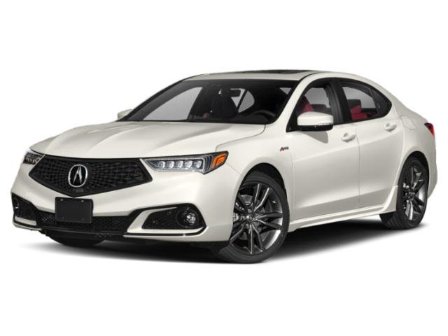 Pre-Owned 2019 Acura TLX w/A-Spec Pkg Red Leather