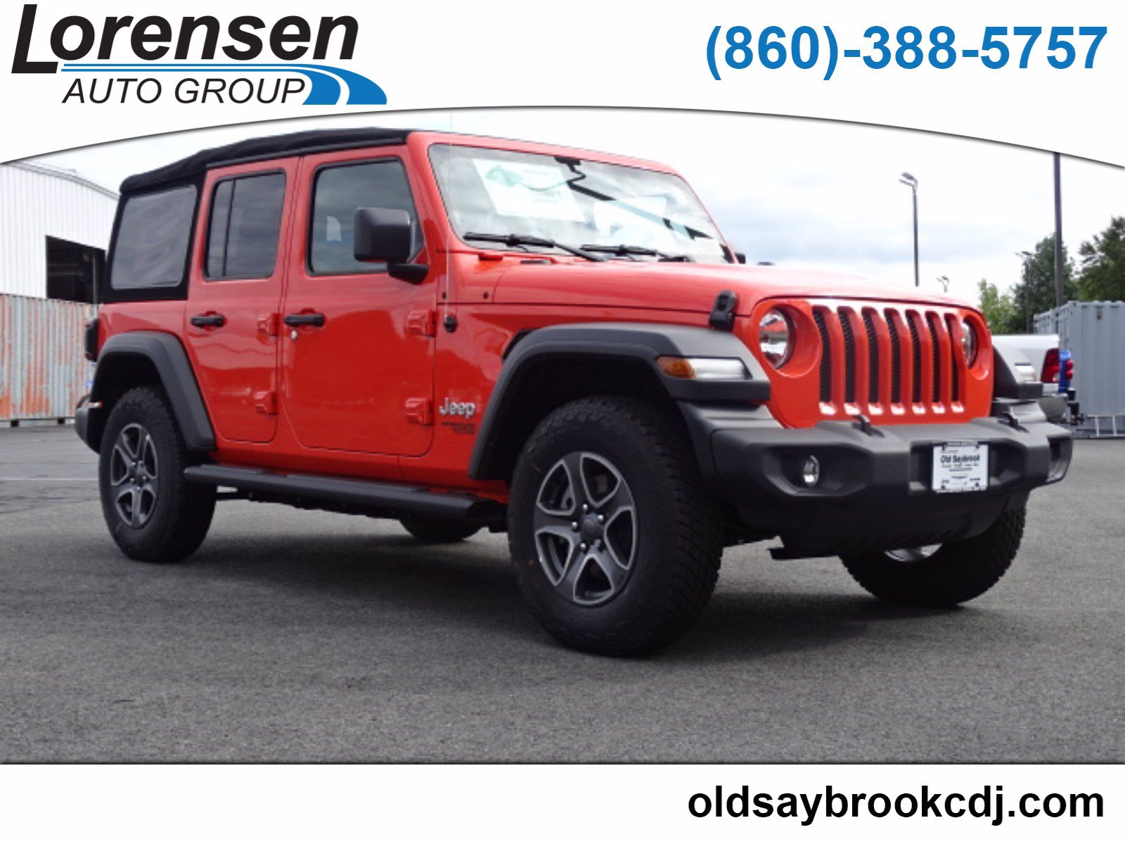 New 2018 JEEP Wrangler Sport S Sport Utility in Old Saybrook