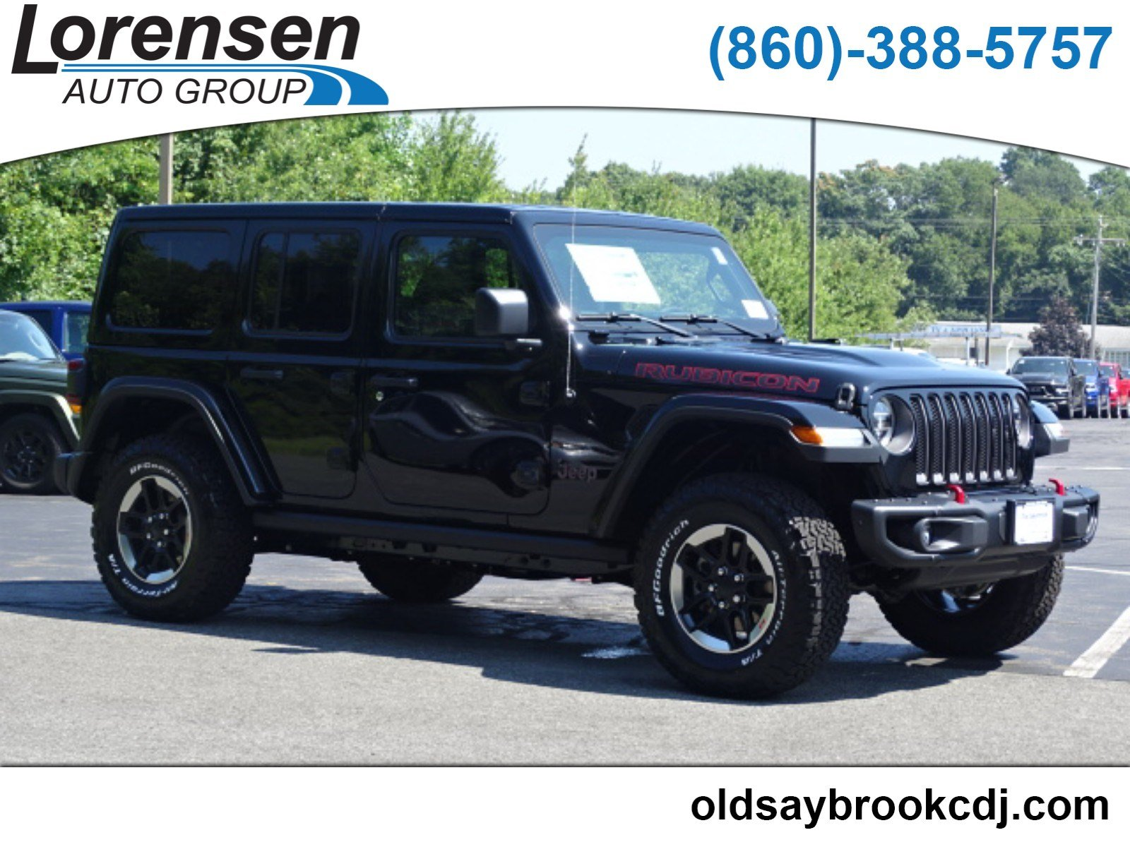 New 2018 JEEP Wrangler Rubicon Sport Utility in Old Saybrook