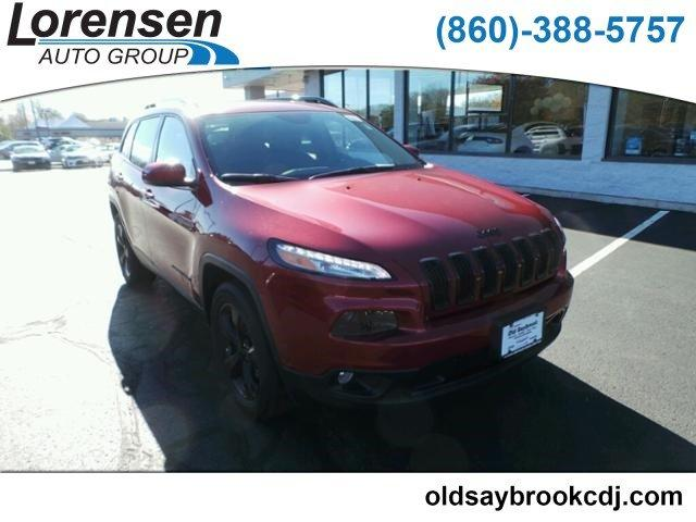 CERTIFIED PRE-OWNED 2017 JEEP CHEROKEE HIGH ALTITUDE 4X4 *LTD AVAIL* 4WD