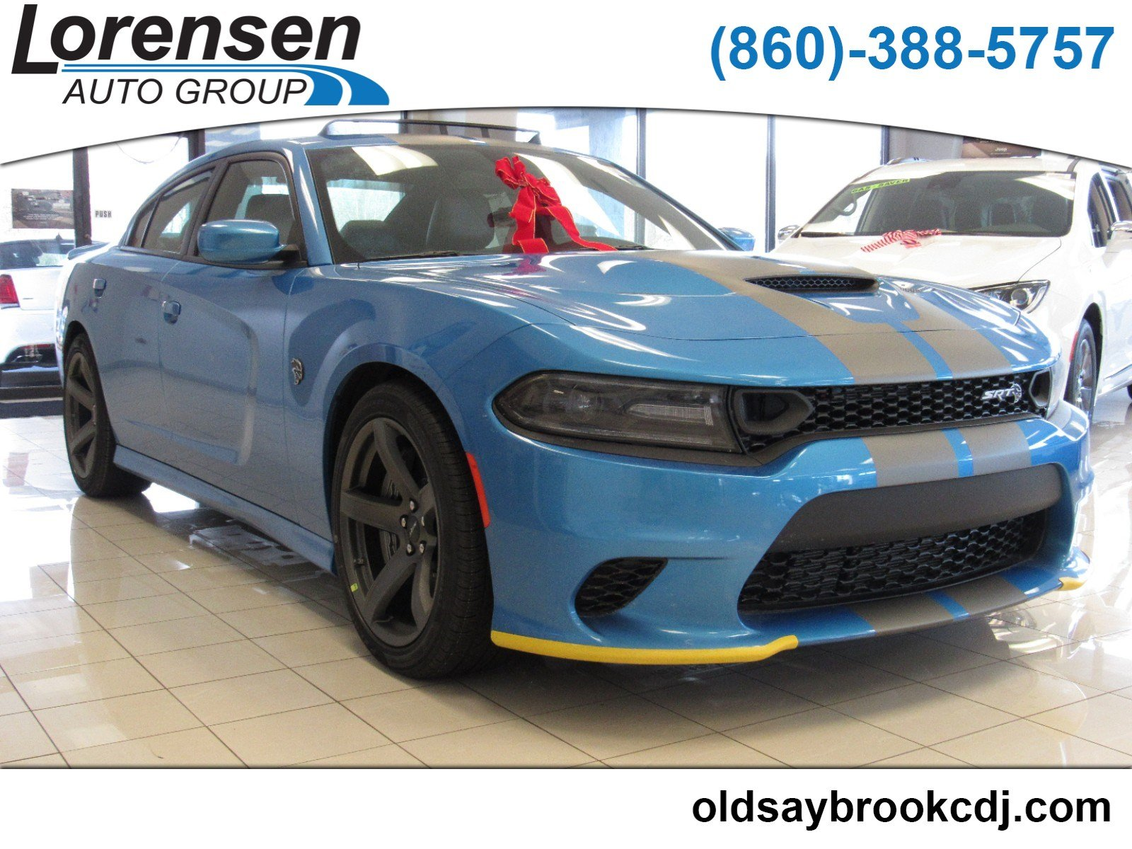 Charger Srt Hellcat >> New 2019 Dodge Charger Srt Hellcat Sedan In Old Saybrook 19092