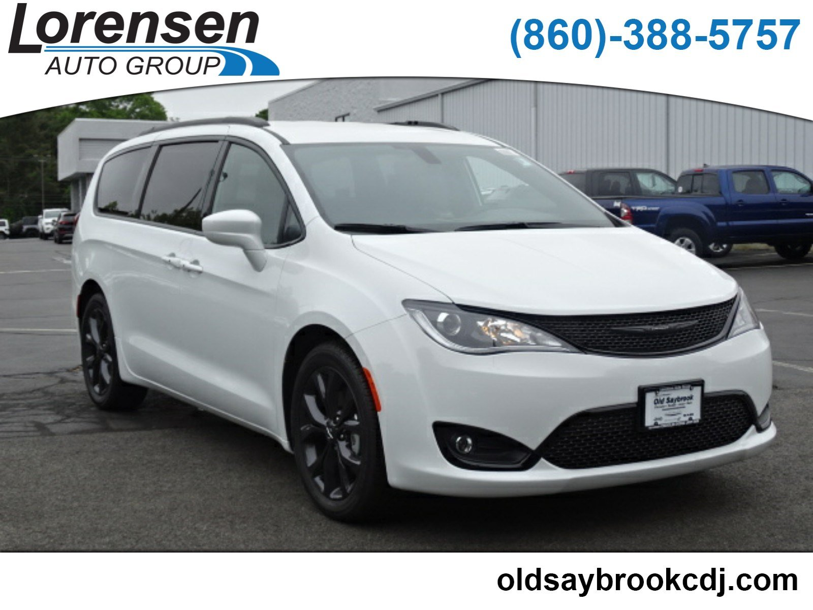 New 2018 Chrysler Pacifica Touring L Penger Van In Old Saybrook 18190 Dodge Jeep Ram