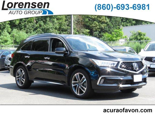Pre Owned 2017 Acura Mdx Sh Awd Wadvanceentertainment Pkg Sport