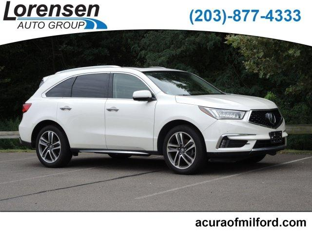 Pre-Owned 2017 Acura MDX SH-AWD w/Advance/Entertainment Pkg