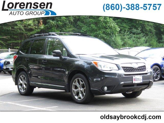 Pre Owned 2015 Subaru Forester 4dr Cvt 2 5i Touring Pzev Sport