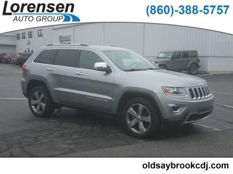 Certified Pre-Owned 2015 Jeep Grand Cherokee 4WD 4dr Limited