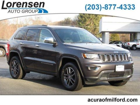 Pre-Owned 2018 Jeep Grand Cherokee Limited 4x4