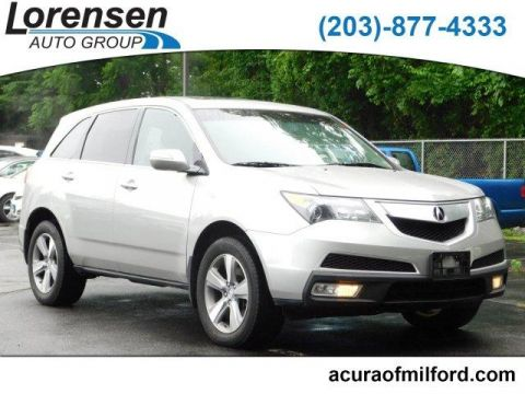 Pre-Owned 2012 Acura MDX AWD 4dr