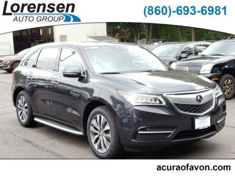 Pre-Owned 2016 Acura MDX SH-AWD 4dr w/Tech/Entertainment