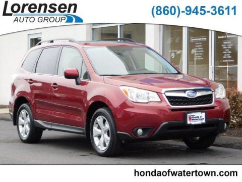 Pre-Owned 2016 Subaru Forester 4dr CVT 2.5i Limited PZEV